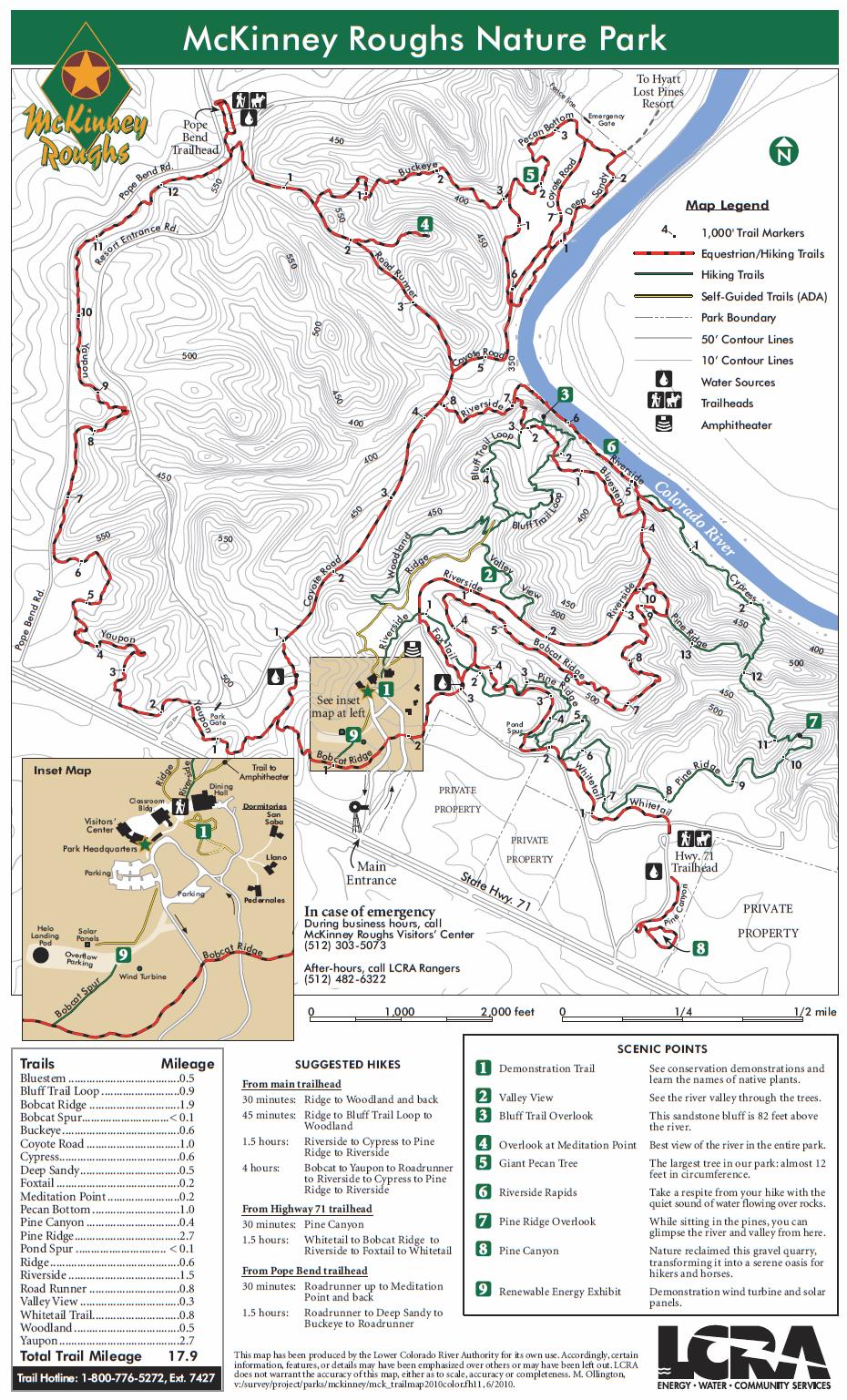 McKinney Roughs Nature Park, Cedar Creek TX