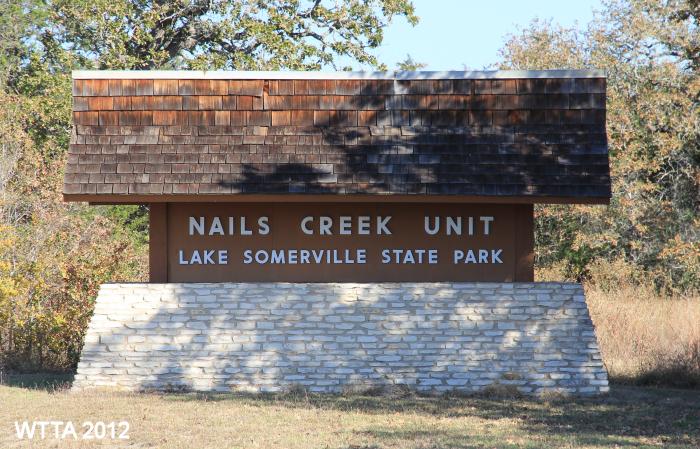 Lake Somerville State Park, Somerville TX