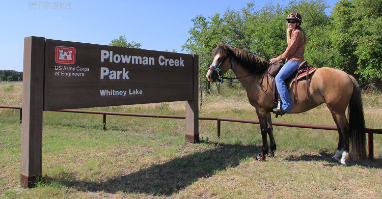 Plowman Creek Park, Kopperl TX - Where The Trails Are…