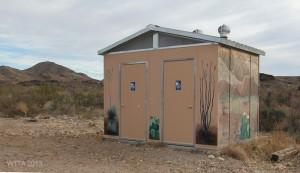 Agua Adentro restroom facilities.
