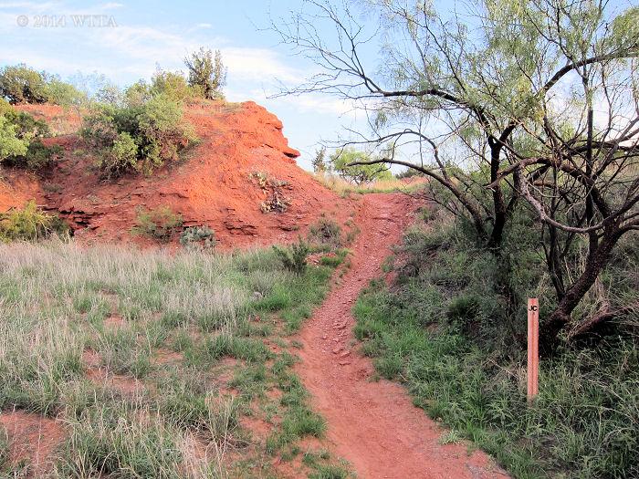 JC trail marker