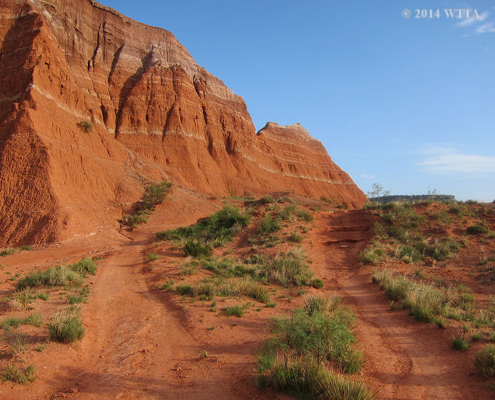 Lighthouse Trail in Palo Duro Canyon.